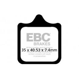 Brzdové platničky EBC EPFA322/4HH