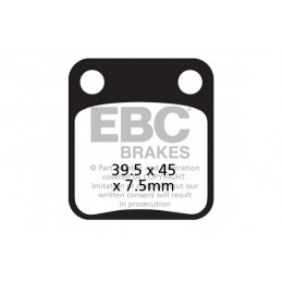 Brzdové platničky EBC FA054TT