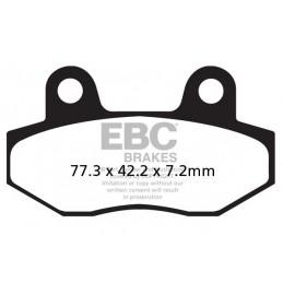 Brzdové platničky EBC SFA086HH