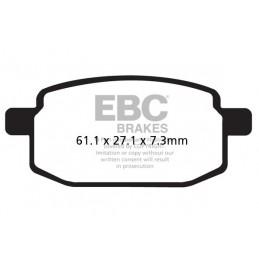 Brzdové platničky EBC SFA169HH