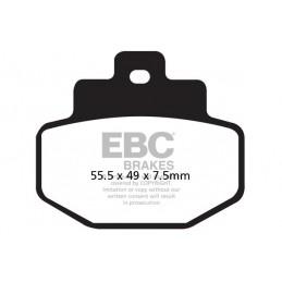 Brzdové platničky EBC SFA321HH