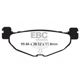 Brzdové platničky EBC SFA408HH