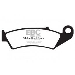 Brzdové platničky EBC FA125R