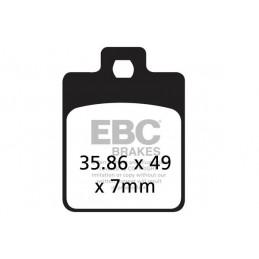 Brzdové platničky EBC SFA260HH