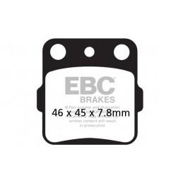 Brzdové platničky EBC FA084/3TT