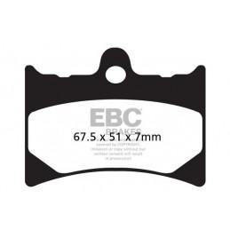 Brzdové platničky EBC FA126HH