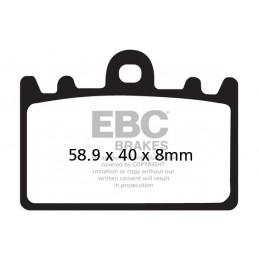 Brzdové platničky EBC FA180HH