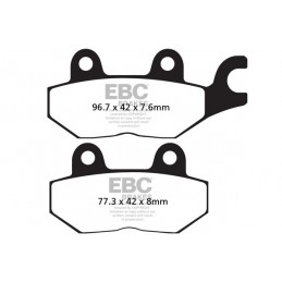 Brzdové platničky EBC FA215HH