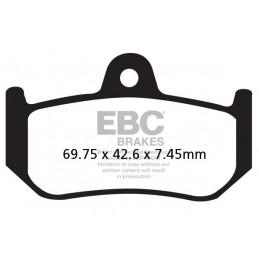 Brzdové platničky EBC FA320HH