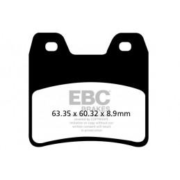 Brzdové platničky EBC FA348HH