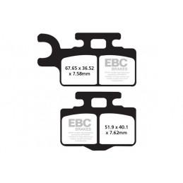 Brzdové platničky EBC FA302TT