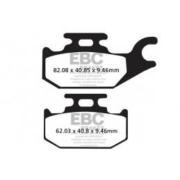 Brzdové platničky EBC FA307TT