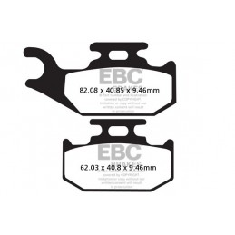 Brzdové platničky EBC FA317TT