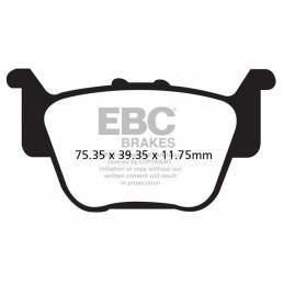 Brzdové platničky EBC FA373R