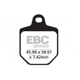 Brzdové platničky EBC FA433/4HH