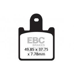 Brzdové platničky EBC EPFA417/4HH