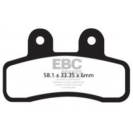Brzdové platničky EBC FA448