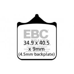 Brzdové platničky EBC EPFA604/4HH