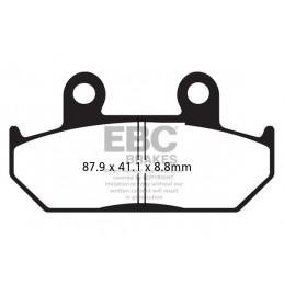 Brzdové platničky EBC FA124HH