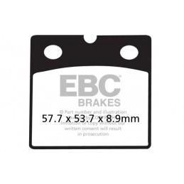 Brzdové platničky EBC FA171HH
