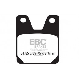 Brzdové platničky EBC FA267HH