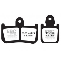 Brzdové platničky EBC FA442/4HH