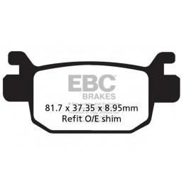 Brzdové platničky EBC SFA415HH