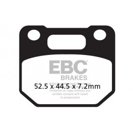 Brzdové platničky EBC FA110