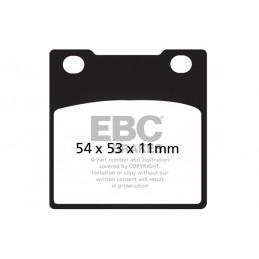 Brzdové platničky EBC FA045