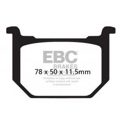 Brzdové platničky EBC FA051