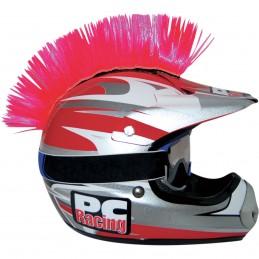 Číro na moto prilbu PC RACING Mohawk pink