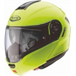 Prilba na moto CABERG Levo fluorescent yellow