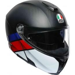 Prilba na motocykel AGV Sportmodular Layer Carbon