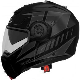 Prilba na moto CABERG Droid Blaze black/gray