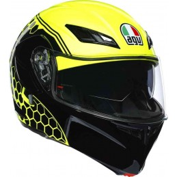 Prilba na moto AGV Compact ST Detriot yellow black
