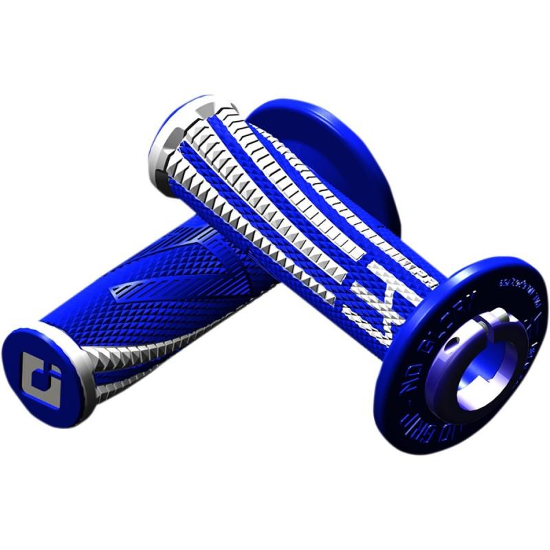 Gripy ODl EMIG Pro V2 lock-on soft modro-biele