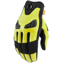 Rukavice Icon Automag yellow/black