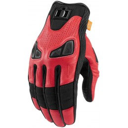 Rukavice Icon Automag red/black