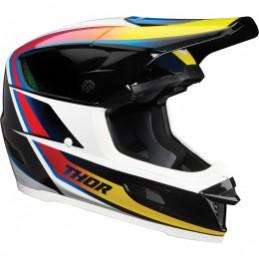 Prilba na moto THOR Reflex ECE black/white/red/yellow