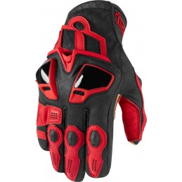 Rukavice Icon Hypersport Short red/black