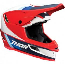 Prilba na moto THOR Reflex ECE red/white/blue