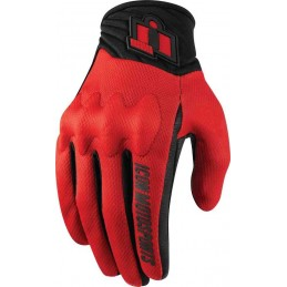 Rukavice Icon Anthem 2 red/black