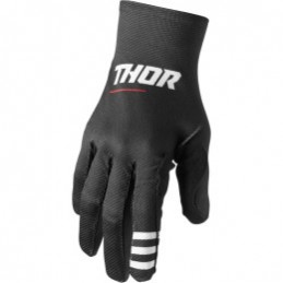 MX rukavice Thor Agile Plus black