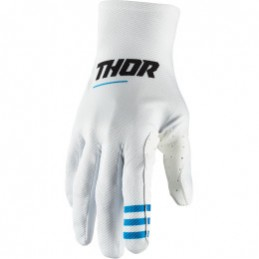 MX rukavice Thor Agile Plus white
