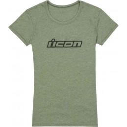 Tričko Icon Clasicon green Ladies