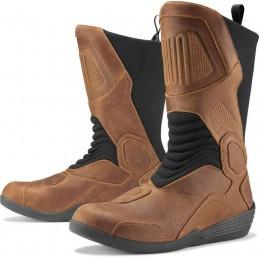 Topánky na motocykel Icon Joker WP brown
