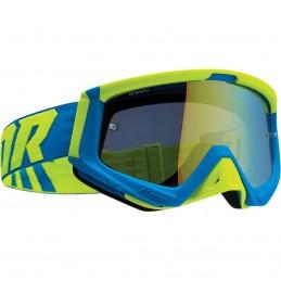 MX okuliare THOR Sniper blue/green