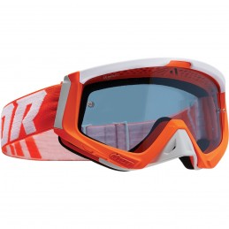 MX okuliare THOR Sniper orange/white