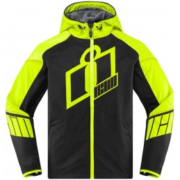 Bunda Icon Merc Crusader black/yellow