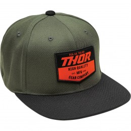 Šiltovka Thor Chevron Military Green